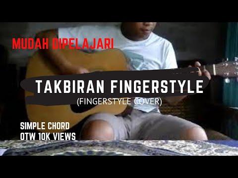Takbiran fingerstyle cover