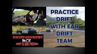 Kg Mook Drift Practice with EAR DRIFT TEAM - Preparation for Borneo Drift Challenge
