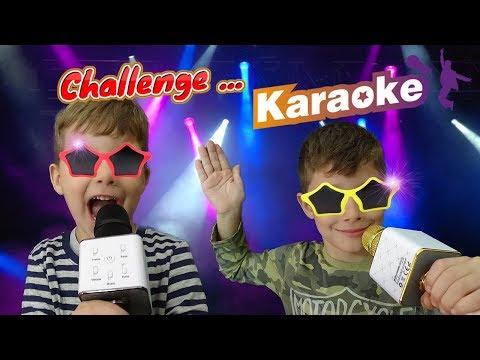 Karaoke Challenge Τραγουδάμε με τα Σούπερ Μικρόφωνα !!! Διασκέδαση βίντεο για παιδιά ελληνικά greek