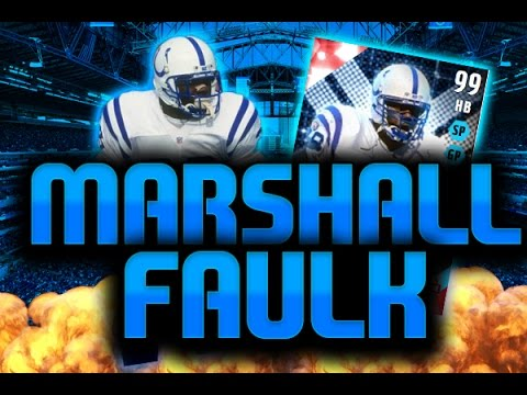99 MARSHALL FAULK GAMEPLAY!!! | MADDEN 16 ULTIMATE TEAM