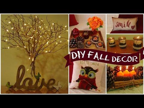Diy Easy Fall Room Decor I Easy Room Decor Ideas I Diy Home Decorations