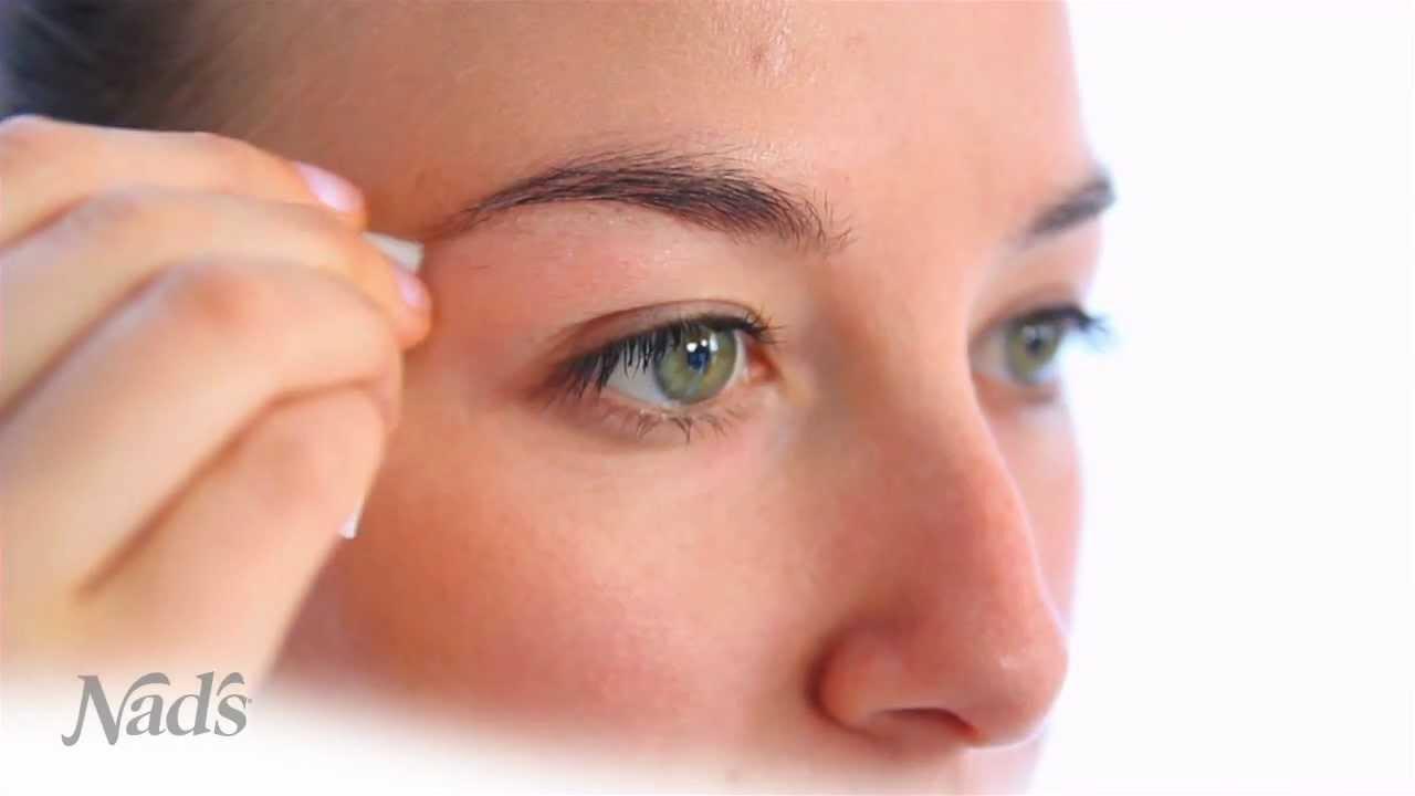 Nads Facial Wand Eyebrow Shaper Youtube