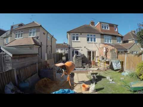 Kitchen Extension in 4 Minutes