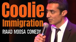 Riaad Moosa Comedy - Coolie Immigration Agency