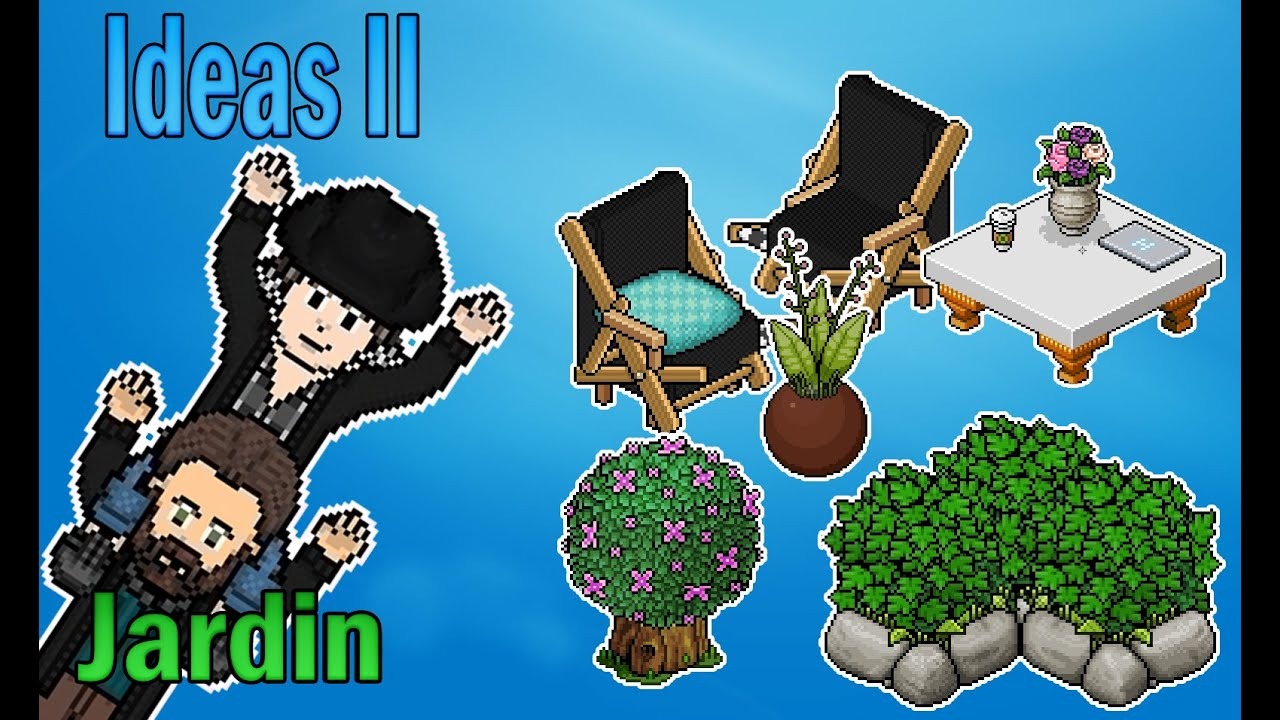 Decoraciones para tu jardin en habbo 2 ft venuz youtube - Decoraciones jardines ...