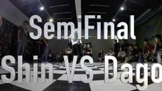 Pop Generation Popping Battle Vol.1--SemiFinal--Shin VS Dago