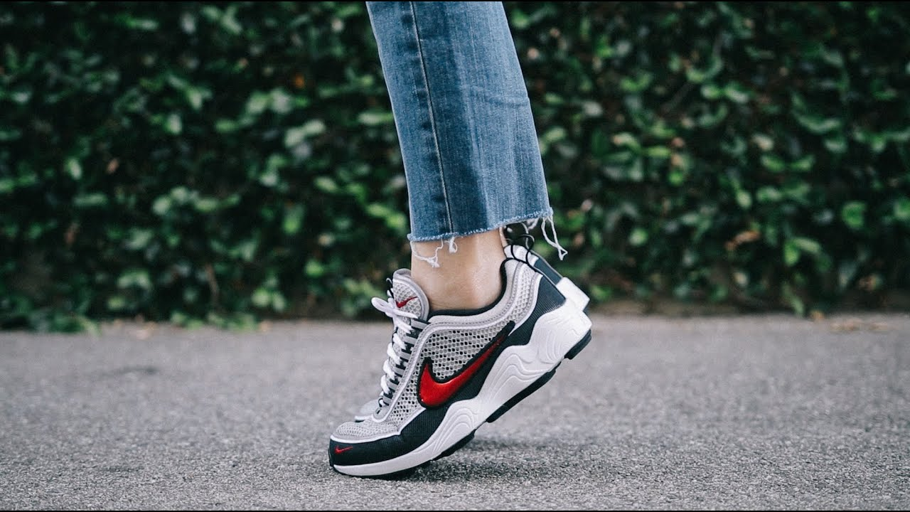 7a5370249403d HATING ON THE NIKE AIR ZOOM SPIRIDON  REVIEW + ON FOOT - YouTube