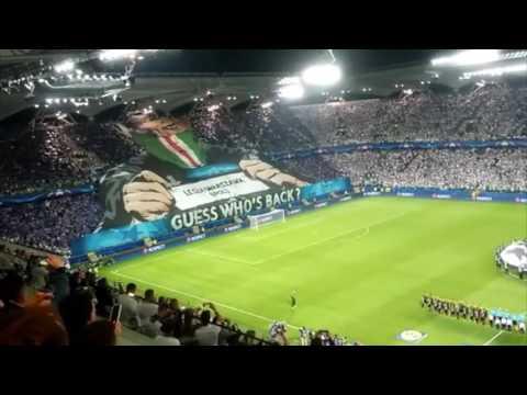 Legia's Performance at match Legia - Dortmund