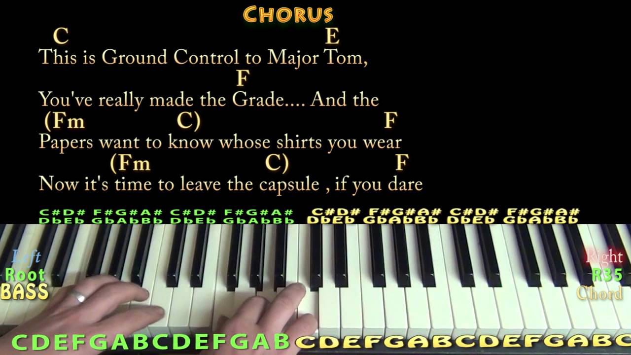 Space Oddity David Bowie Piano Cover Lesson With Chords Lyrics Youtube Here you can post a video or audio performance. space oddity david bowie piano cover lesson with chords lyrics