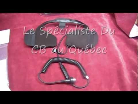 CB moto Headset J&M : HS-ICD284-HHU-HO Le Spécialiste Du CB