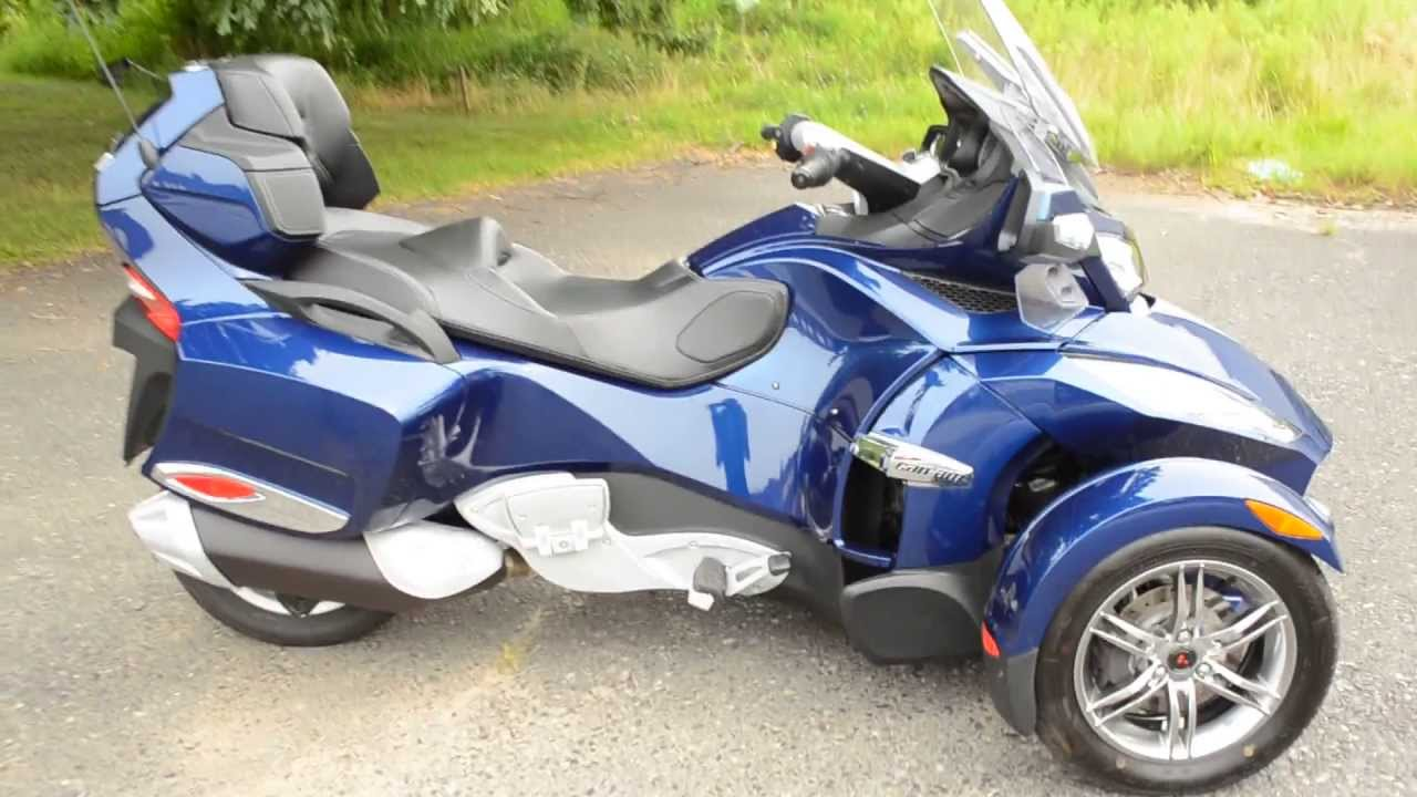 For sale 2010 can am spyder rt s only 400 miles at east 11 motorcycle exchange llc youtube