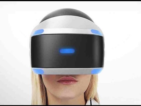 ps4 vr test with hot girl playstation 4 virtual reality. Black Bedroom Furniture Sets. Home Design Ideas