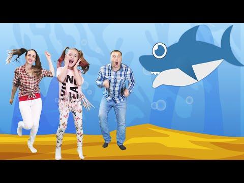 ДЕТСКАЯ ПЕСНЯ ПРО АКУЛУ | Baby Shark | развивающие и обучающие мультики для детей | Акуленок 2020