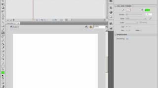 Работа с кистью и распылителем в Adobe Flash CS4 (12/46)