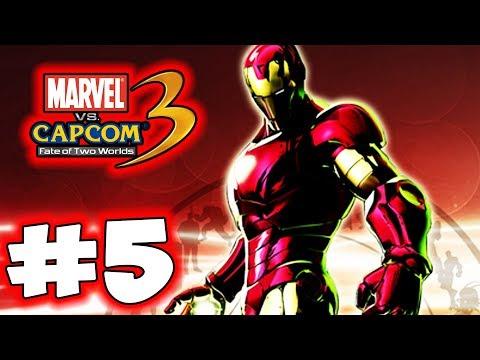 Ultimate Marvel Vs. Capcom 3 - Part 5 - Iron Man! - 동영상