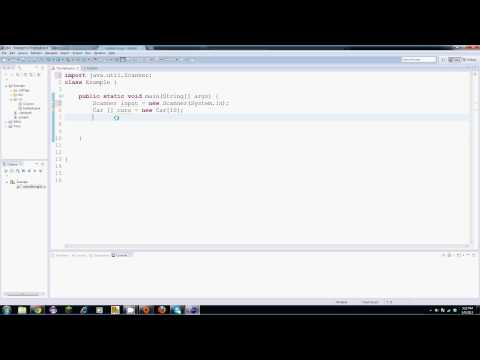 Download Youtube: Java Tutorial - 20 - An Array of Objects