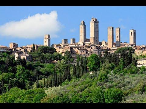 Cosa vedere nella visita a San Gimignano.Borghi d'Italia.Video di Pistolozzi Marco