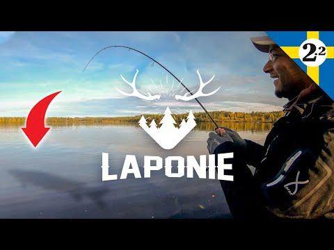 ENORME POISSON AU BOUT DE LA LIGNE ( Episode 2.2 Laponie )
