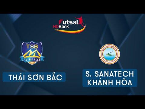 Trực tiếp Futsal HDBank 2020: Thái Sơn Bắc Vs Sanvinest Sanatech Khánh Hòa   VTC Now