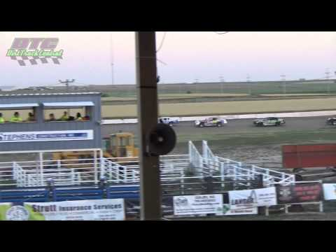 IMCA Stock Car Make-up A Feature Thomas County Speedway 6-19-15