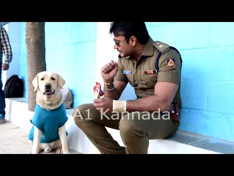 Darshan and DOG Love    Darshan fans Must Watch Video    A1 Kannada Video