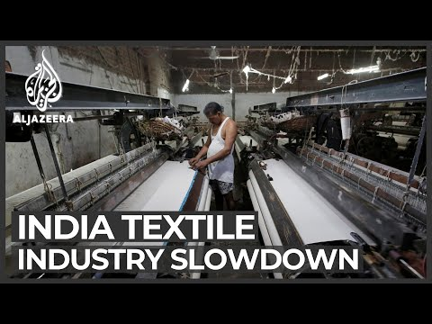 Cheap imports, higher taxes hit India's textile industry