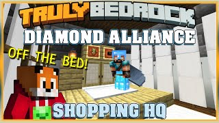 Truly Bedrock Season 1 EP28 Diamond Alliance HQ Minecraft Bedrock Edition SMP