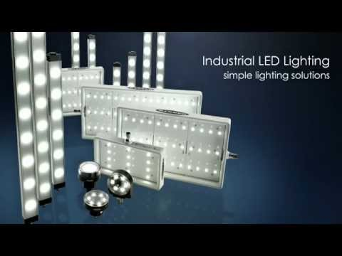 High-Quality, Energy-Efficient Industrial LED Lighting Provides Bright, Even Illumination