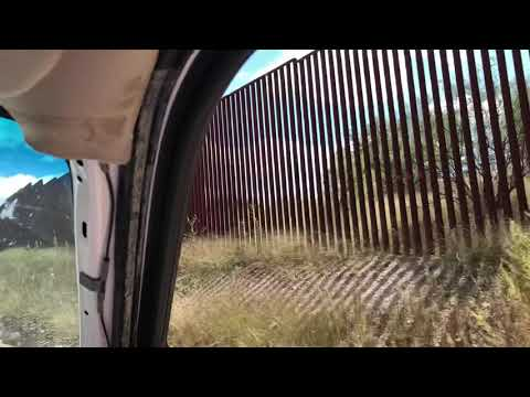 USA / Mexico Border Fence Near Sasabe, Arizona
