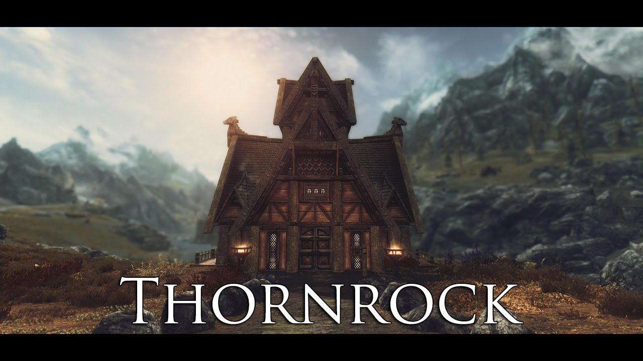Thornrock - A no-frills player house at Skyrim Nexus - mods