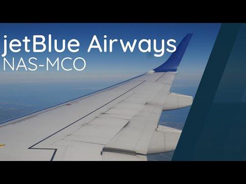 Flight Review - Jetblue E190 - NAS-MCO - JBU240