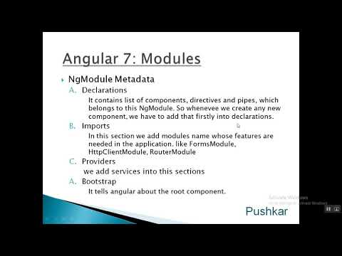 04   angular 7   modules thumbnail