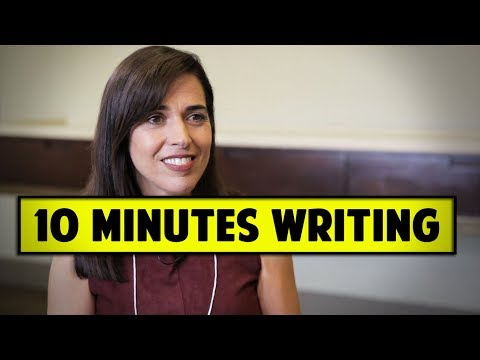 Writing Your Script Ten Minutes At A Time - Pilar Alessandra Full Interview