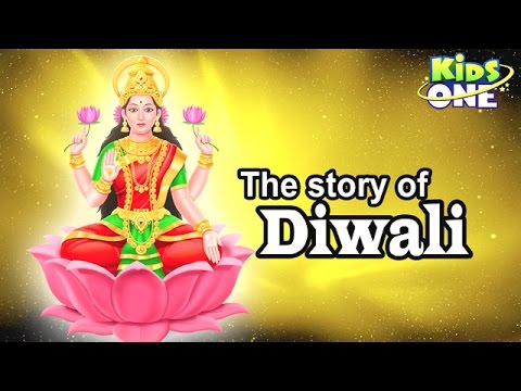 The Story of Diwali | Festival of Lights Cartoon Animation - KidsOne