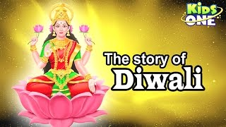 The Story of Diwali | Festival of Lights Cartoon Animation - KidsOne