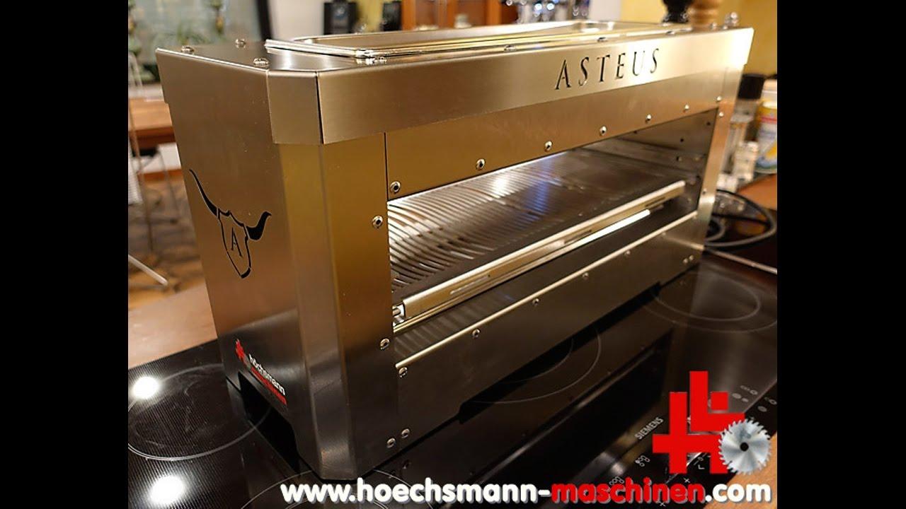 Infrarot Elektrogrill Test : Asteus infrarot elektro grills von höchsmann maschinen gmbh