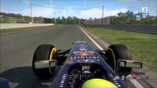 F1 2013 | Hungria - 1.18.058 | HD
