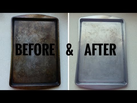 Remove Grease Stains From A  NON-STICK PAN Without Damaging It | Lesson #124 | Morris Time Cooking
