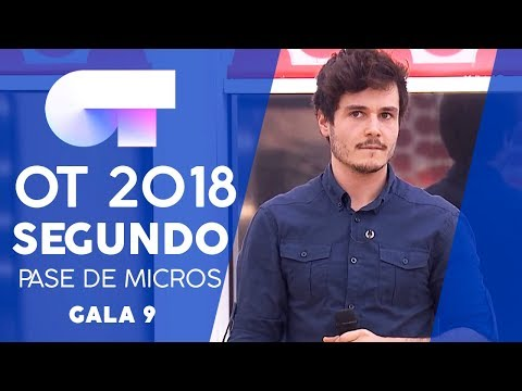 """UNA LLUNA A L'AIGUA"" - MIKI | SEGUNDO PASE DE MICROS GALA 9 | OT 2018"