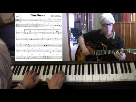 Blue Room - guitar & piano jazz cover - Yvan Jacques