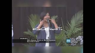CeCe Winans LIVE - 54th Annual State of Metro Address