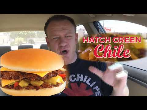 Freddy's NEW! ☆HATCH GREEN CHILE TRIPLE STEAKBURGER☆ Limited Time!!!