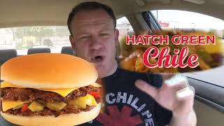Freddy's ☆Hatch Green Chile STEAKBURGER☆ Food Review!!!
