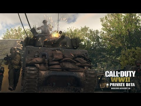 Call of Duty®: WWII – Multiplayer Private Beta-Trailer [DE]