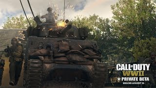 Call of Duty®: WWII - Multiplayer Private Beta-Trailer [DE]