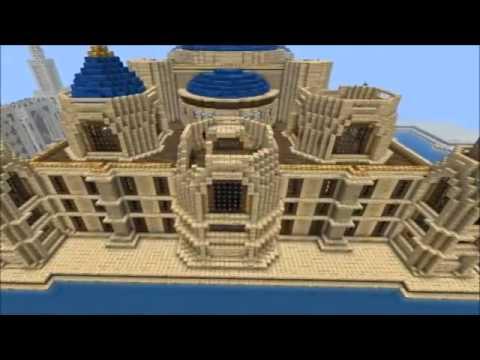 اكبر قصر في ماين كرافت