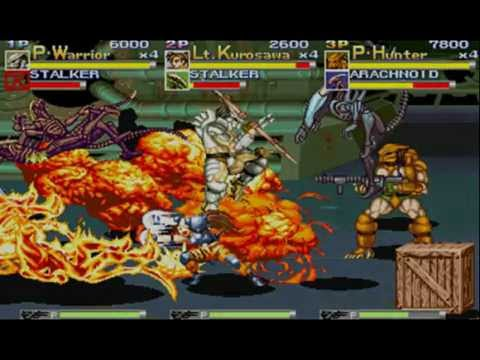 Alien VS Predator Arcade Full BGM Music BSO OST