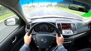 2013 Nissan Teana 2.5 CVT (182) POV TEST DRIVE