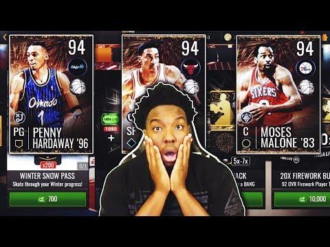 FULL BREAKDOWN OF THE NEW FIREWORKS PROMO IN NBA LIVE MOBILE 19!!!