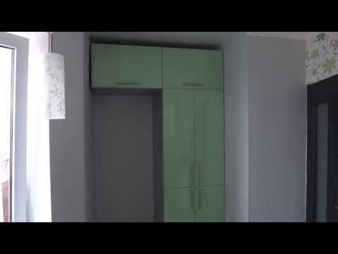 Кухня с холодильником  Дизайн кухни 9 м кв  #edblack